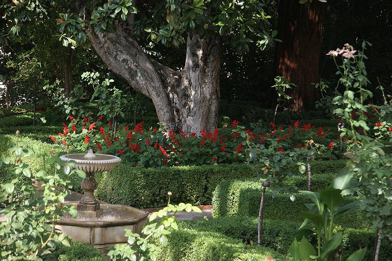 Les jardins de l'Allhambra