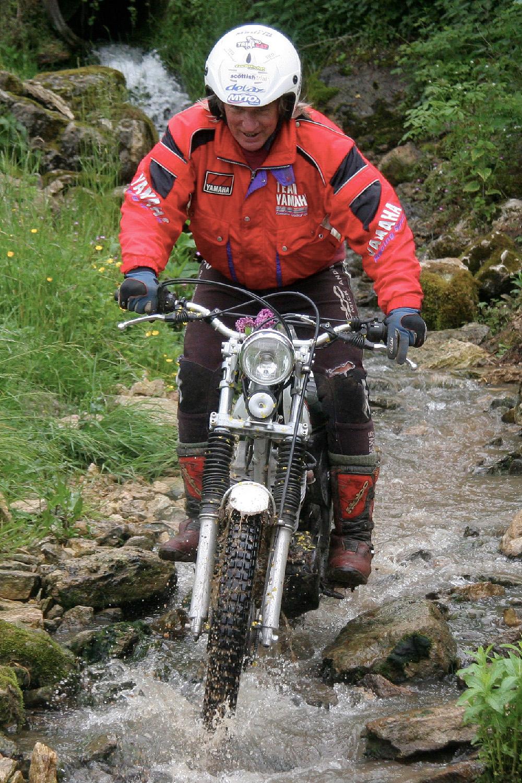 Mick Andrews - Yamaha 525 XTY