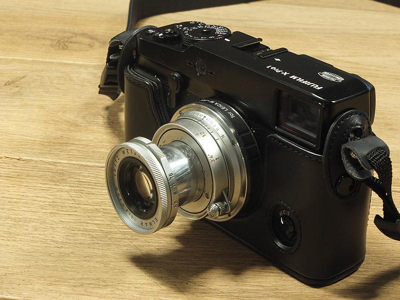 Fuji X-Pro1 avec objectif Leica 50mm 2.8