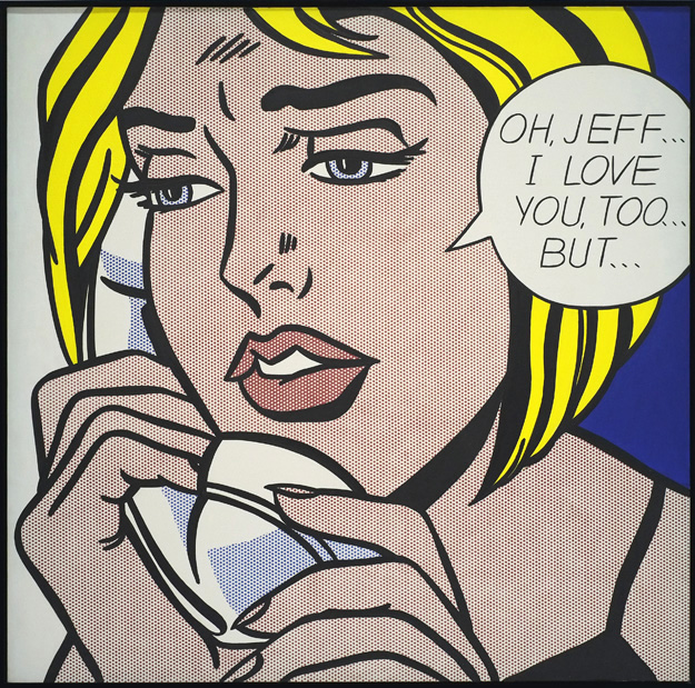 Oh, Jeff…I Love You, Too…But… Roy Lichtenstein - 1964