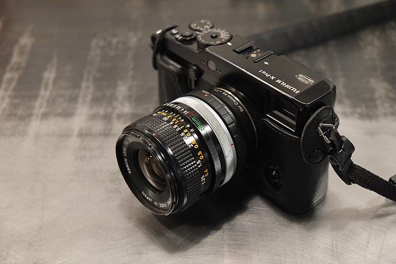 Objectif Canon FD 28mm SC 2.8