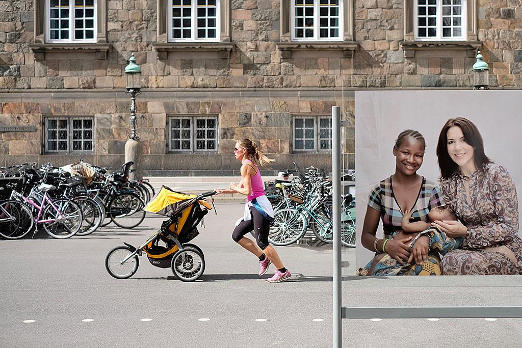 Quand ils ne sont pas à vélo, les habitants de copehague font leur gogging...