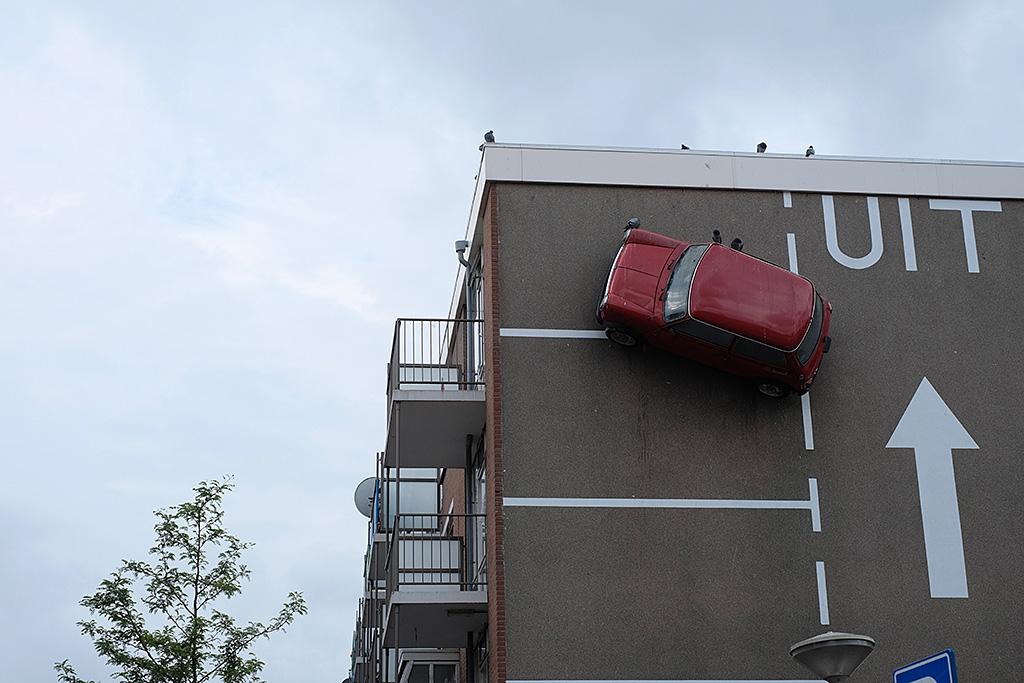 A la sortie de La Haye - Humour Neerlandais