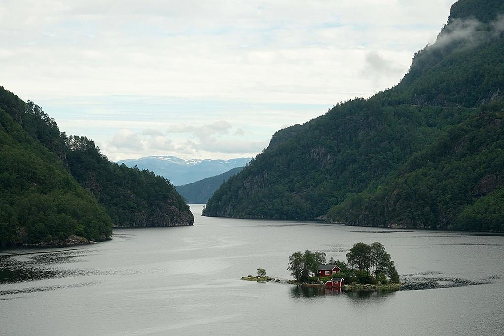 Petit coin tranquile dans le Fjord