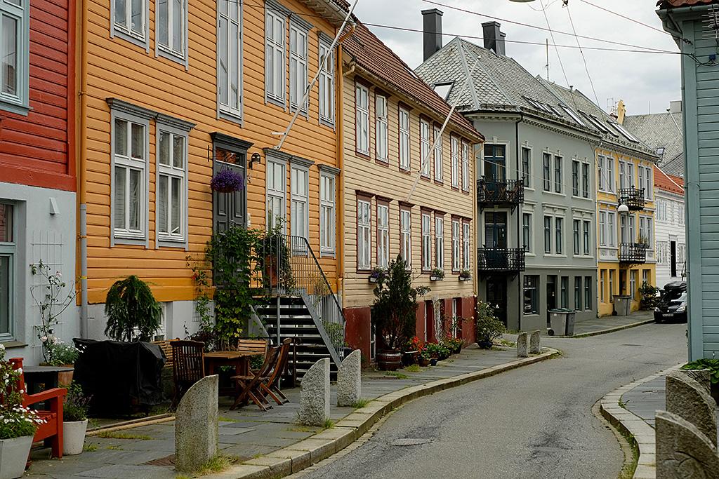 Dans les hauteurs de Bergen