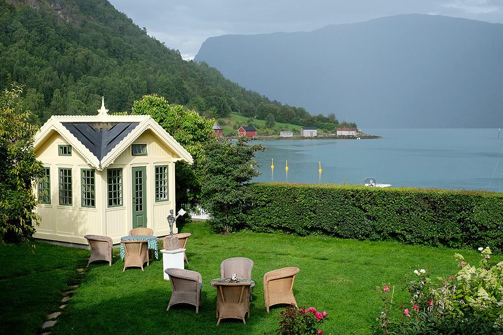 Hôtel Walaker - vue de la terrasse