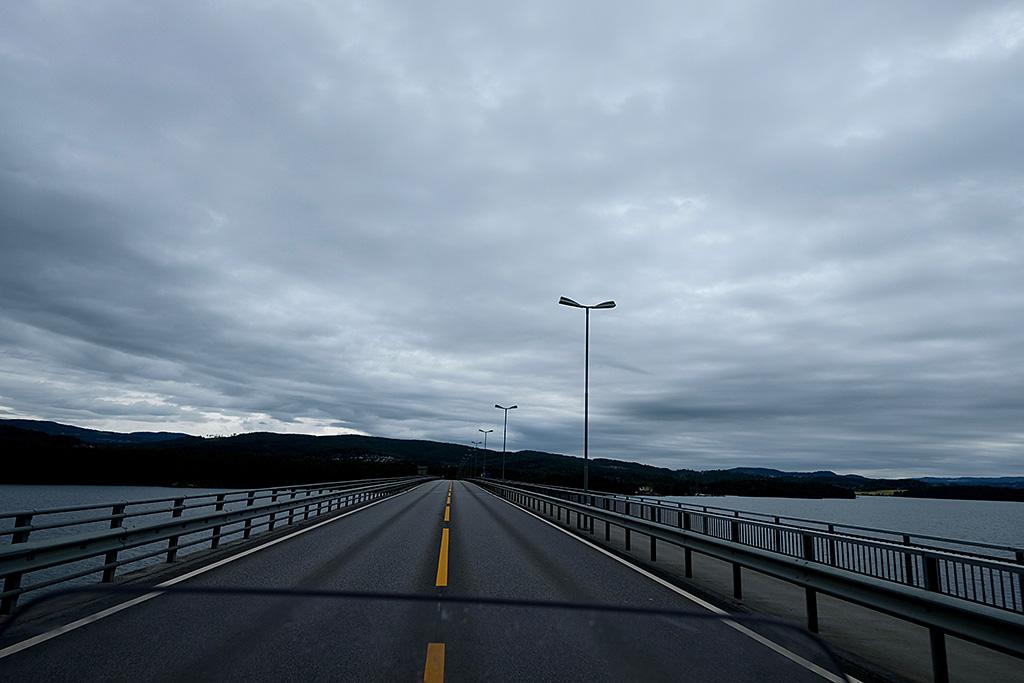 Entre Lillehamer et Oslo