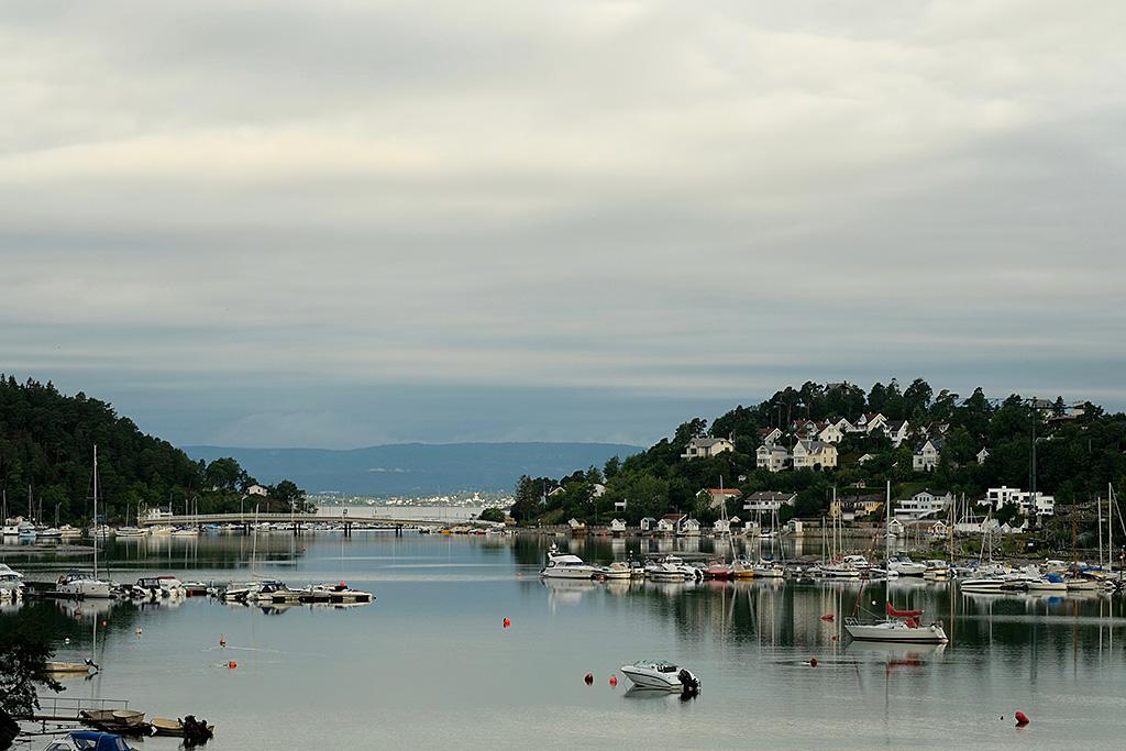 Petites iles à la sortie d'Oslo