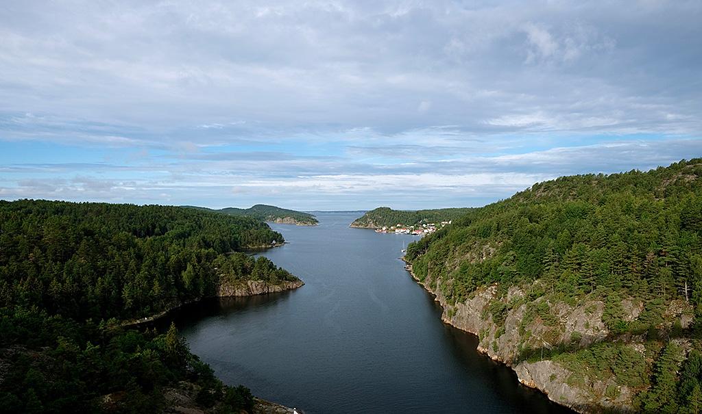Petit Fjord entre Oslo et Göteborg
