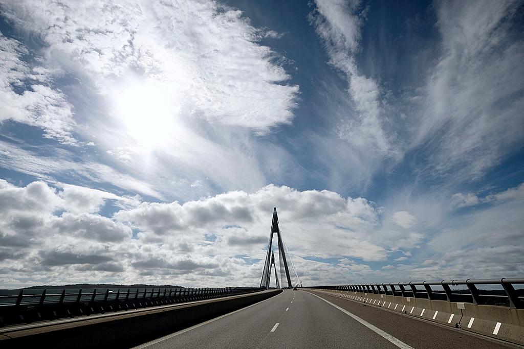 Arrivée sur Göteborg