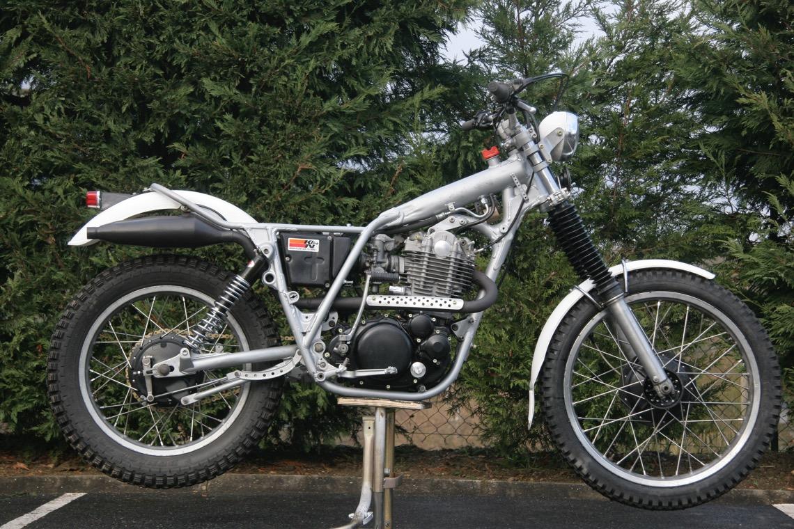 La moto sans son habillage